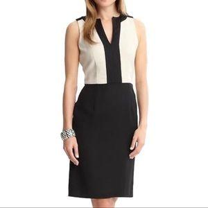 Banana Republic Black & White sheath Dress 4